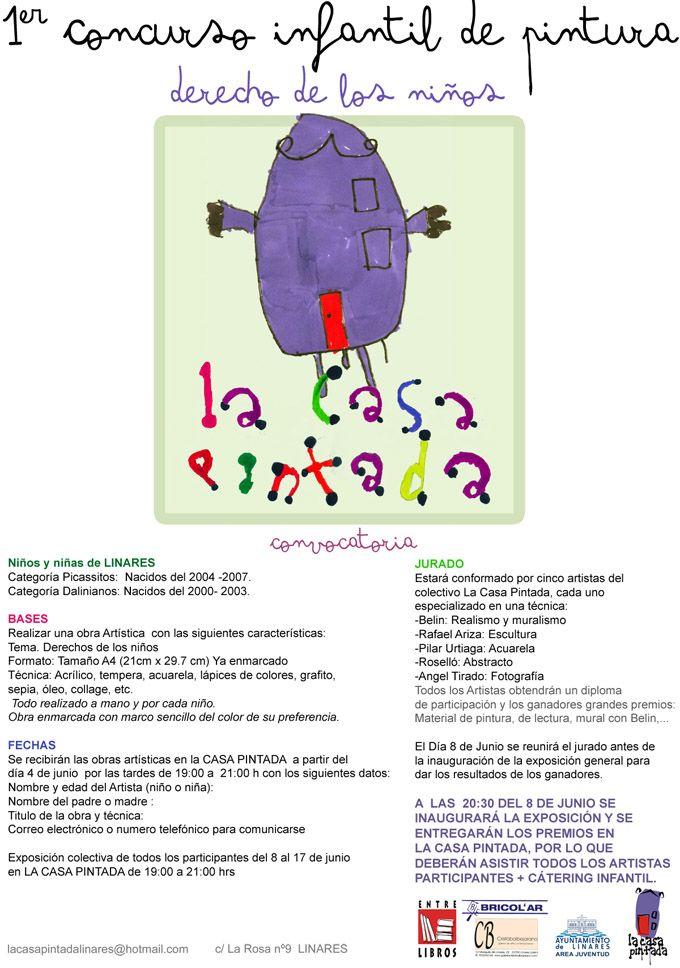 La Casa Pintada organiza un concurso infantil de pintura