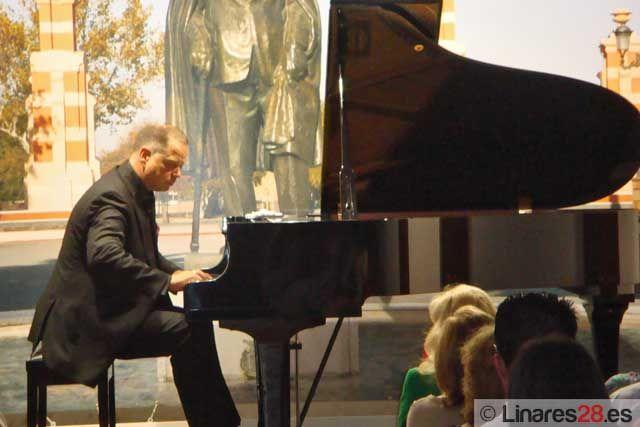 El pianista alemán Frank Wasser actuó en la Casa Museo de Andrés Segovia