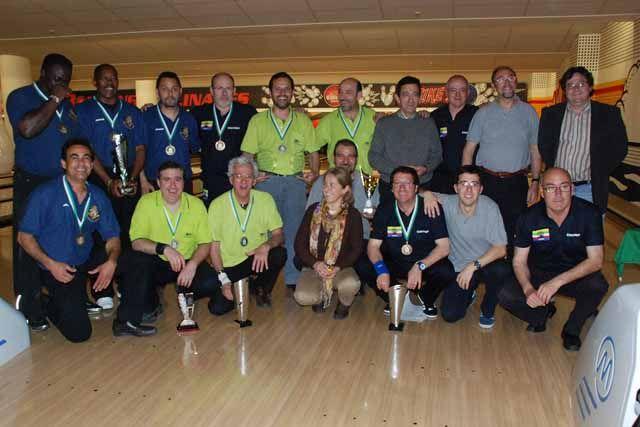 Concluye en Linares la primera Liga Andaluza de bowling de carácter oficial
