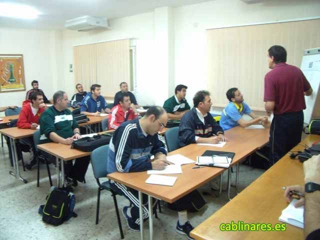 Curso organizado por el CAB Linares