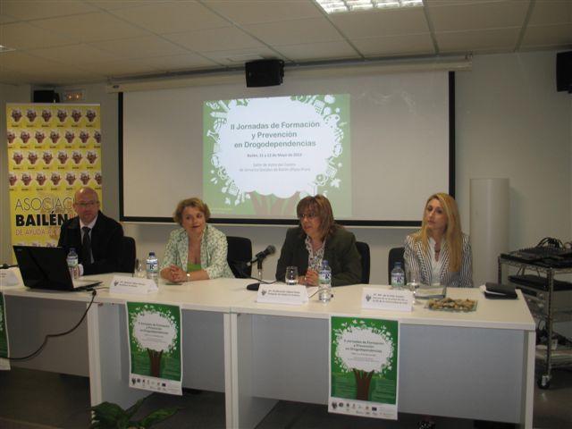 Las II Jornadas de Formación sobre Drogodependencias de Bailén profundizan en la prevención con más de 70 asistentes