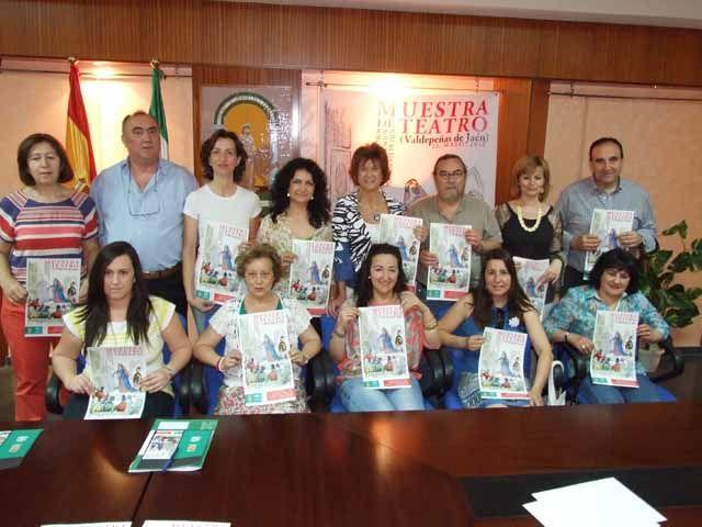 Más de 250 personas asistirán en Valdepeñas de Jaén a la VIII Muestra Provincial de Teatro de Centros de Educación Permanente