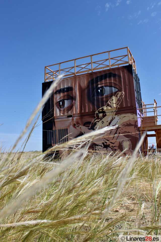 Belin traslada el arte urbano a Cástulo