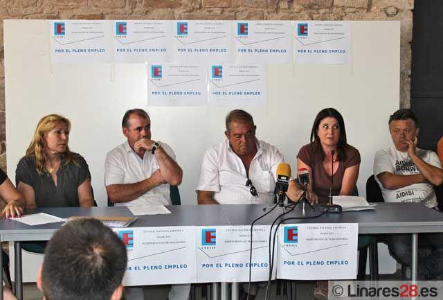El sindicato CNESIT exige al Ayuntamiento de Linares información sobre los costes de los servicios de recogida y eliminación de residuos sólidos urbanos