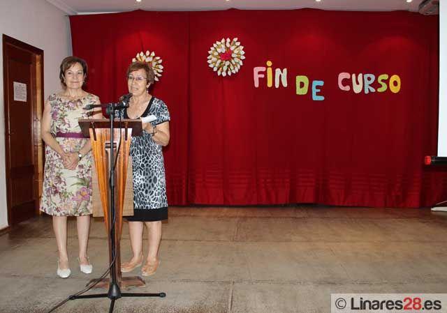 Clausura de los talleres del Centro de Participación Activa de Linares