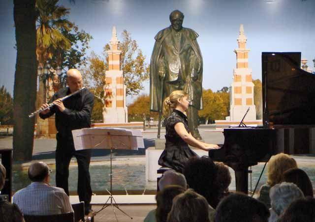 Dúo de flauta y piano en la Casa Museo Andrés Segovia