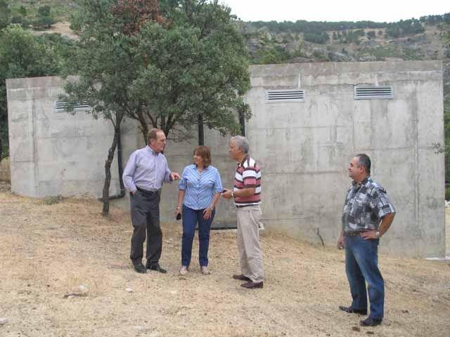 La Iruela cuenta con una nueva red de abastecimiento de agua con una inversión de la Junta de 1,3 millones de euros