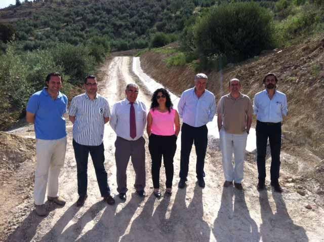La Junta destina más de 1 millón de euros al arreglo de caminos rurales de 5 municipios jiennenses dentro del Plan Encamina2