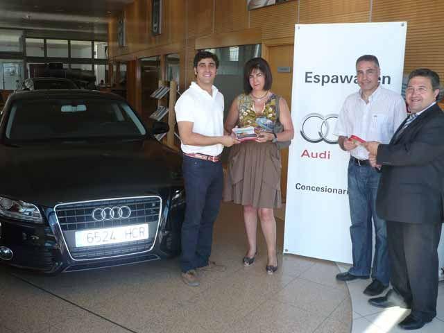 Espawagen Audi patrocina el II Torneo de padel Colegio de Médicos y Farmacéuticos de Jaén