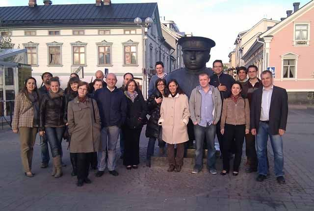 Andaltec viaja a Finlandia para avanzar en un proyecto de I+D sobre envases inteligentes de plástico