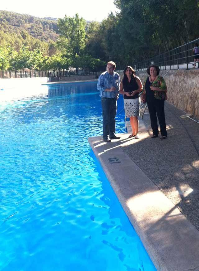 La piscina natural de Amurjo se suma tras su adecuación a los atractivos del Parque Natural de Cazorla, Segura y Las Villas