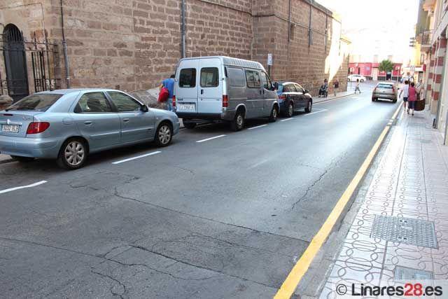 Aumentan las plazas de estacionamiento en la calle Viriato