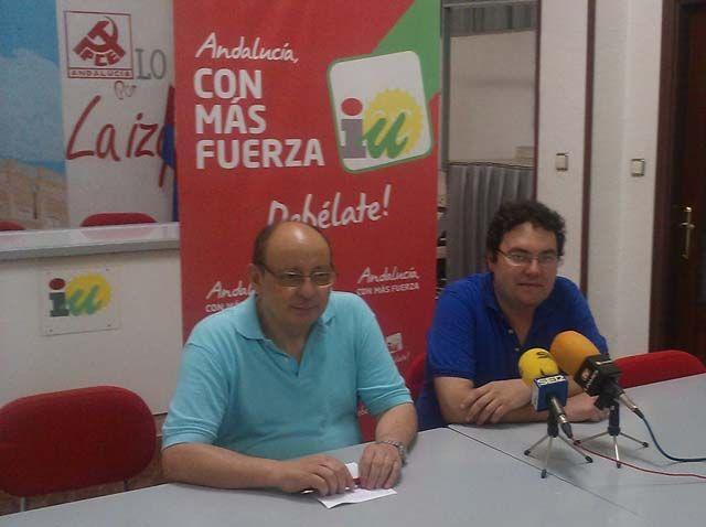 IU y PCA de Linares apoyan la movilización del 19 de julio