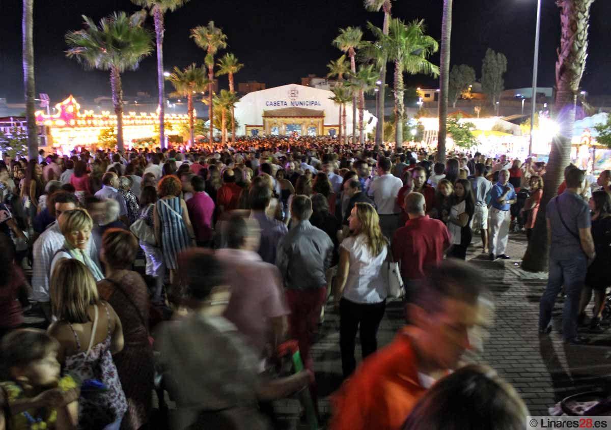 Macarena García hace un balance positivo de la Feria de Linares 2012