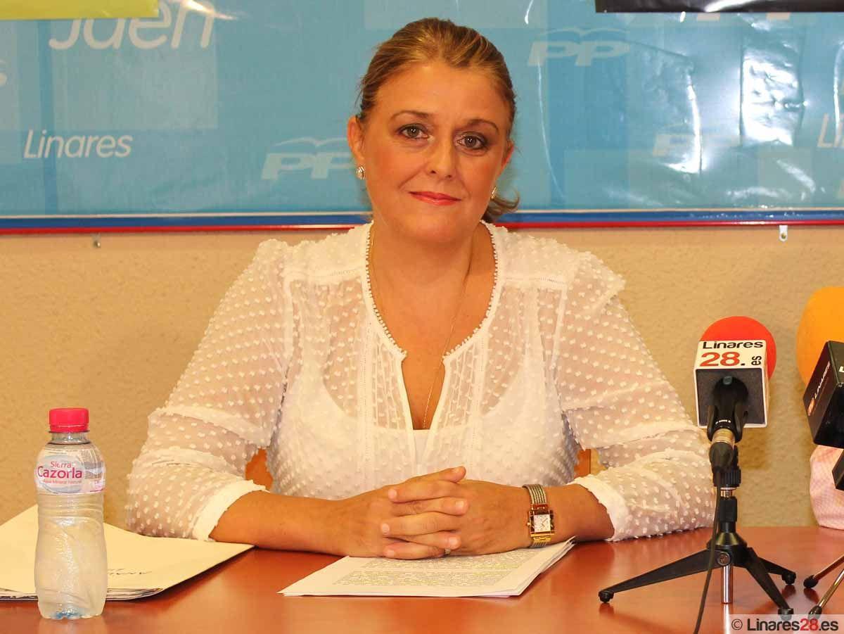 Ángela Isac pide a la Junta que cumpla sus numerosos compromisos con Linares