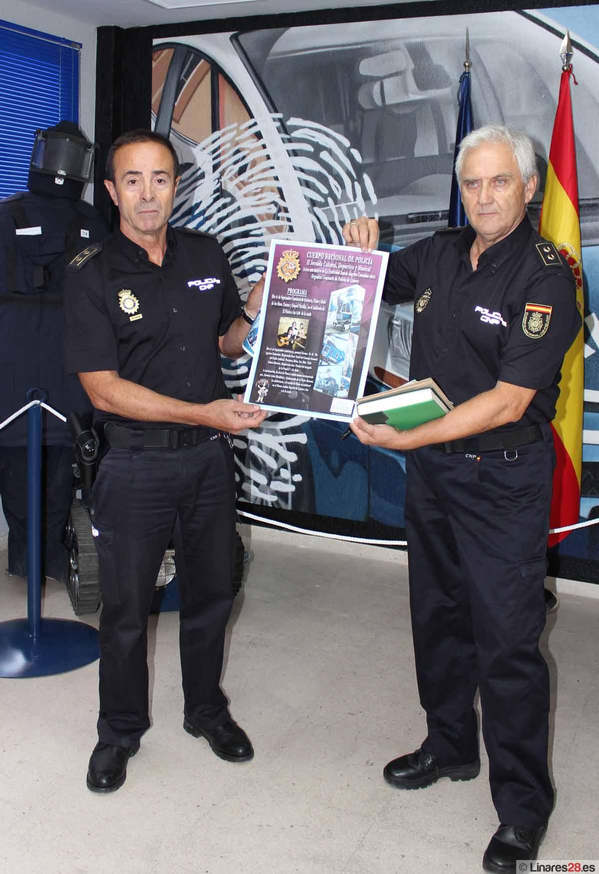 El Cuerpo Nacional de Policía de Linares prepara sus jornadas para celebrar la festividad de los Santos Ángeles Custodios