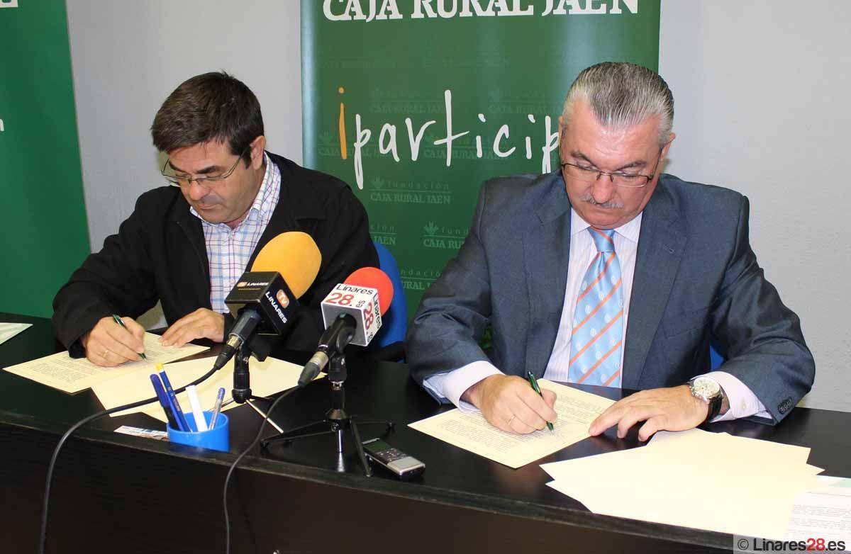 El Club Tenis de Mesa de Linares recibe el apoyo de Caja Rural
