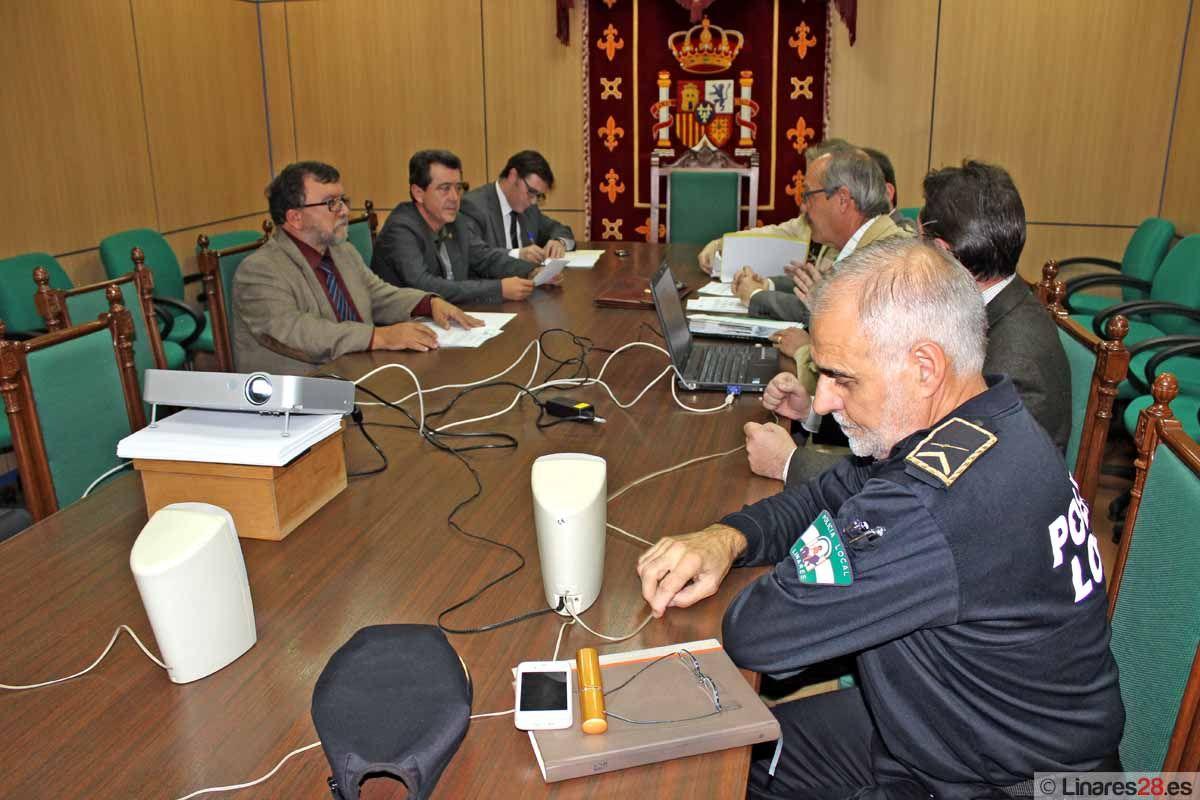 Reunión de la junta rectora del Parque Infantil de Tráfico de Linares