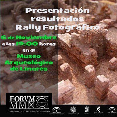 Presentación resultados Rally Fotográfico de Cástulo