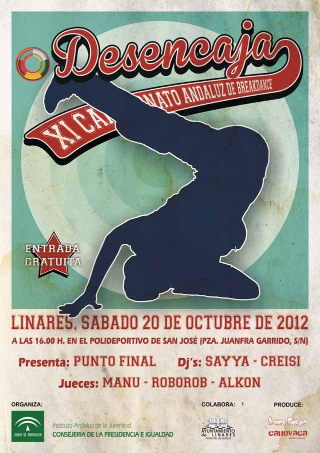 Linares acoge mañana la final del Campeonato Andaluz de Break-Dance