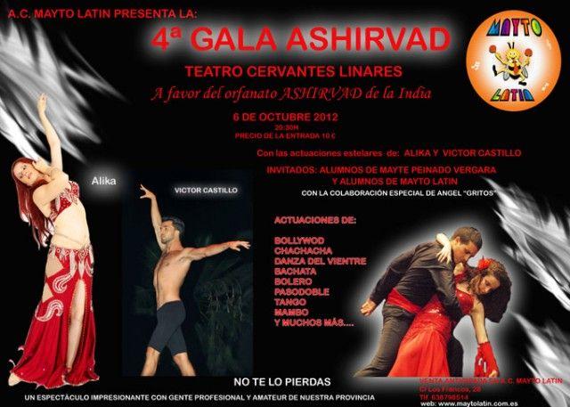 Gala de baile a beneficio del un orfanato de la India