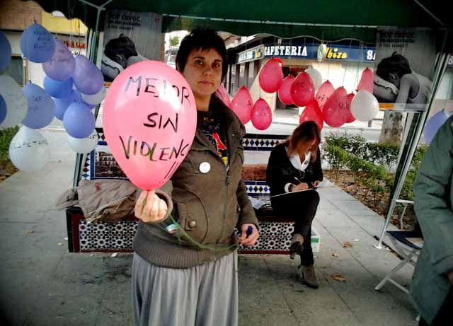 Mujeres Visibles organiza un acto contra la Violencia de Género