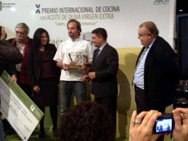 El restaurador danés David Oliver Fisher se alza con el X Premio Internacional de Cocina con Aceite de Oliva Virgen Extra