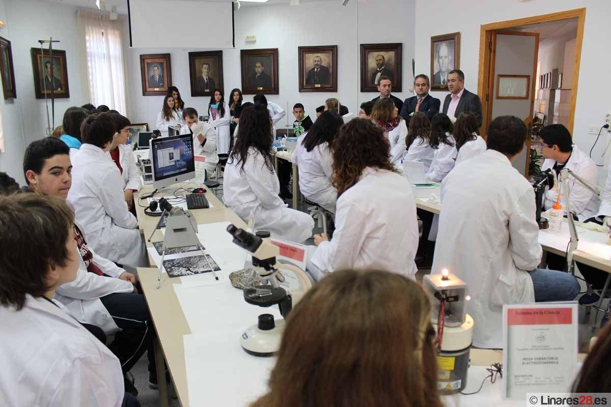 Comienzan las actividades de la Semana de la Ciencia en la EPS de Linares