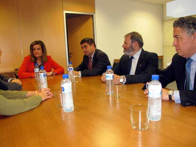 Francisco Reyes pide a la ministra que el Gobierno de la nación ponga en marcha un Plan de Empleo para la provincia de Jaén