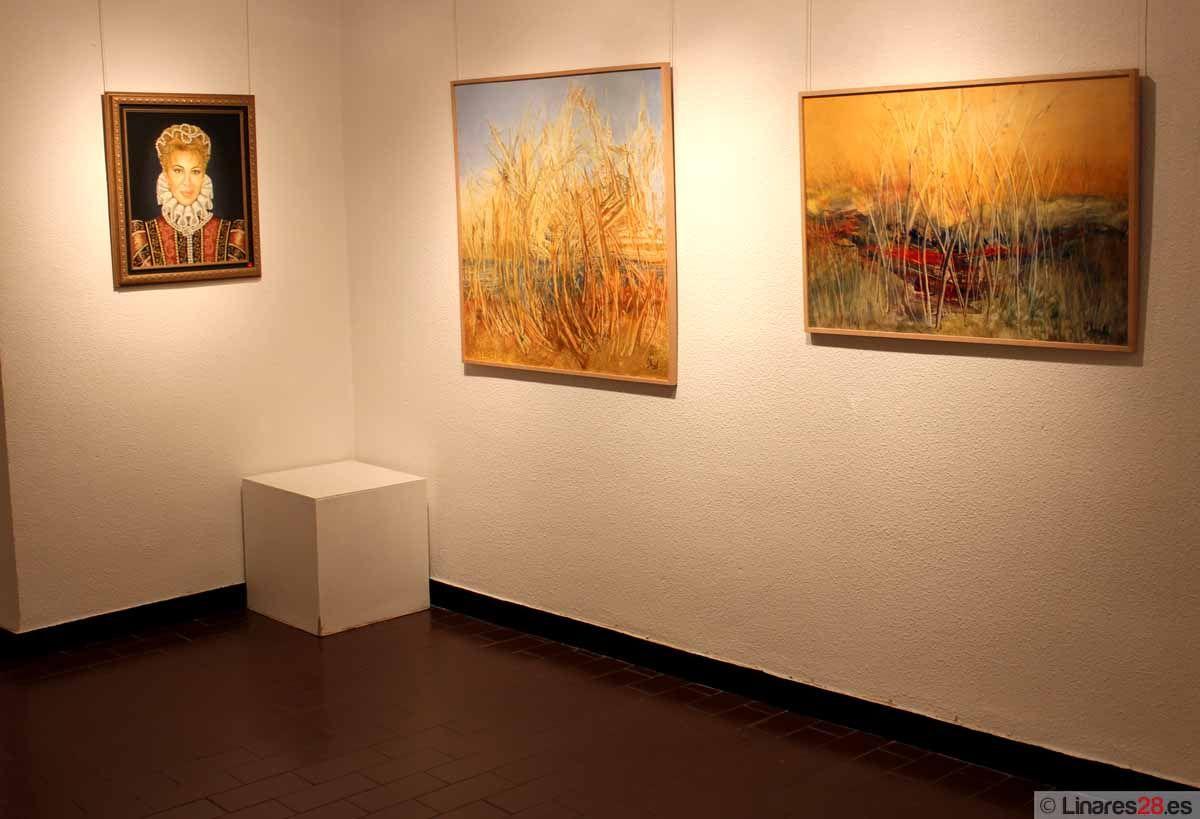 Hoy finaliza la muestra de Carla Duval en Linares