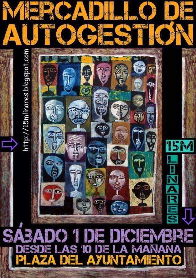 15M Linares organiza un mercadillo de autogestión