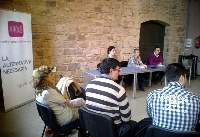 UPyD realiza un encuentro provincial de afiliados en Linares