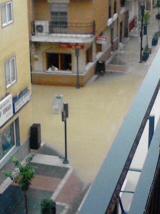 Vuestras fotos de las inundaciones de Linares