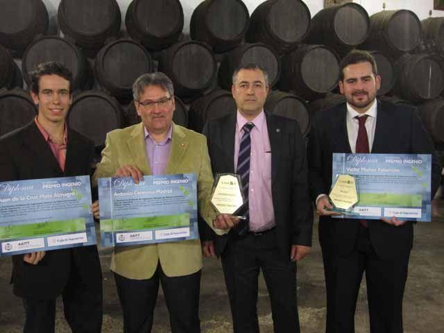 Premio Ingenio a un Proyecto Fin de Carrera de la EPS de Linares