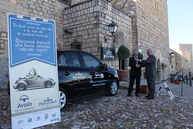El Grupo ÁVOLO firma un acuerdo de colaboración con el Parador Castillo de Santa Catalina