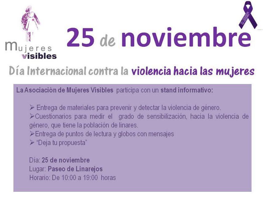 Acto de Mujeres Visibles para el 25N