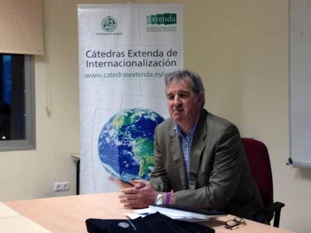 La Cátedra Extenda de la UJA acerca al alumnado universitario experiencias de internacionalización de empresas en tiempos de crisis