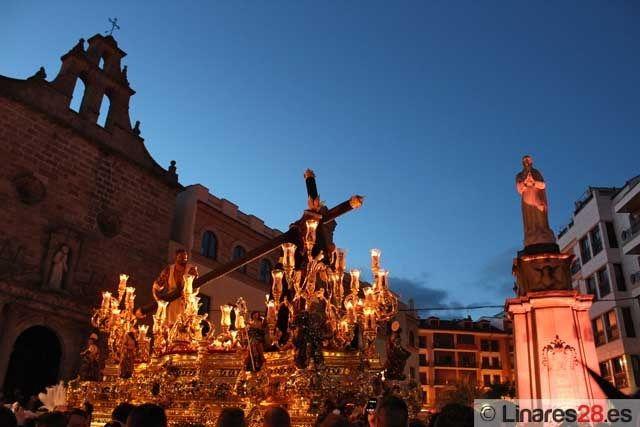 Eusebio Gascón Mateos pregonero de la Semana Santa de Linares 2013