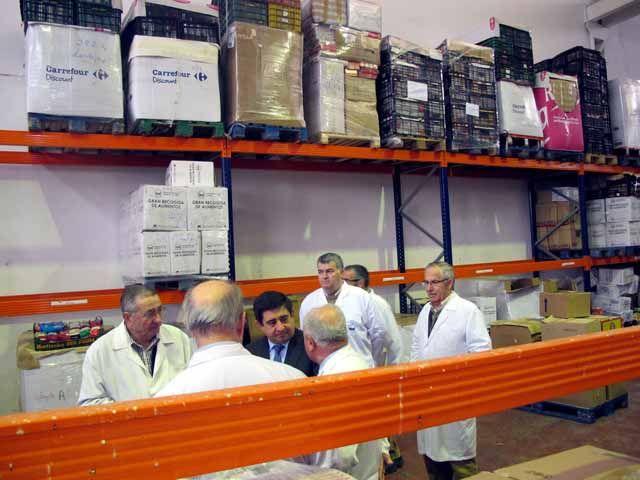 Los linarenses donan 20.000 kg. de alimentos en dos días