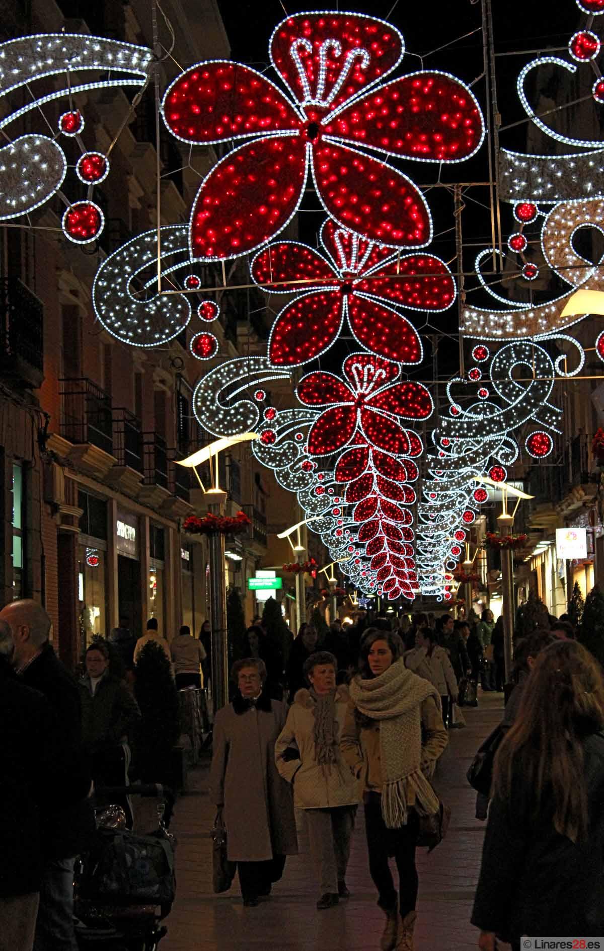 Linares luce por Navidad