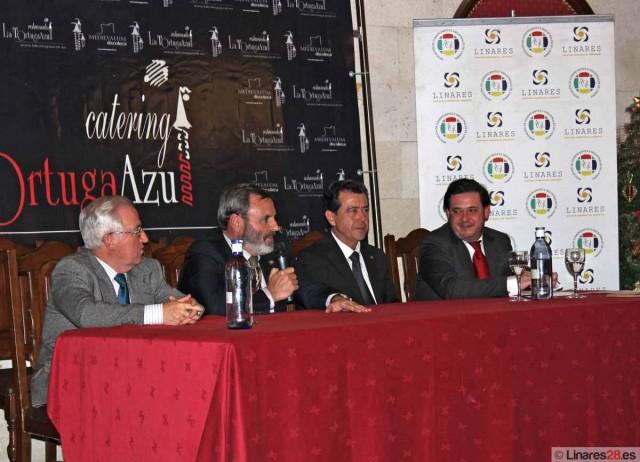 Mesa de la presentación de la campaña
