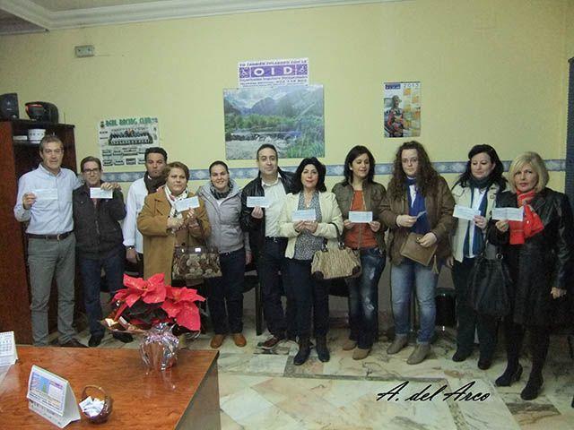 Entrega de premios de OID en Linares