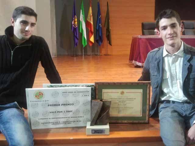 Premio Emprendimiento para dos alumnos de la EPS de Linares