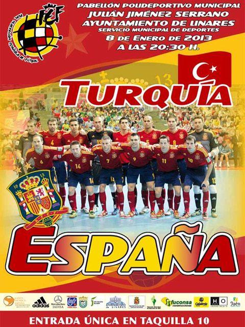 A la venta las entradas del España-Turquía de fútbol sala