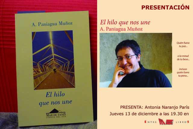 """Presentación del libro """"El hilo que nos une"""""""