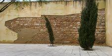 El PA insta al ayuntamiento al arreglo de un muro en el Polideportivo de San José