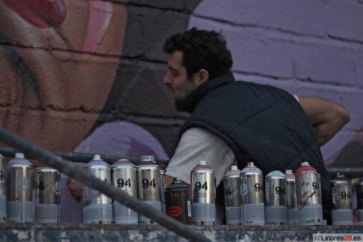 Belin pintará un mural gigante en la feria Art Madrid 2013