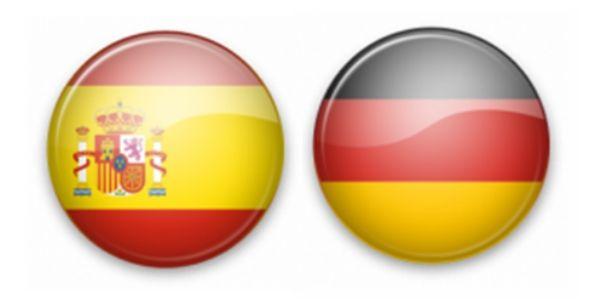 Alemania versus España