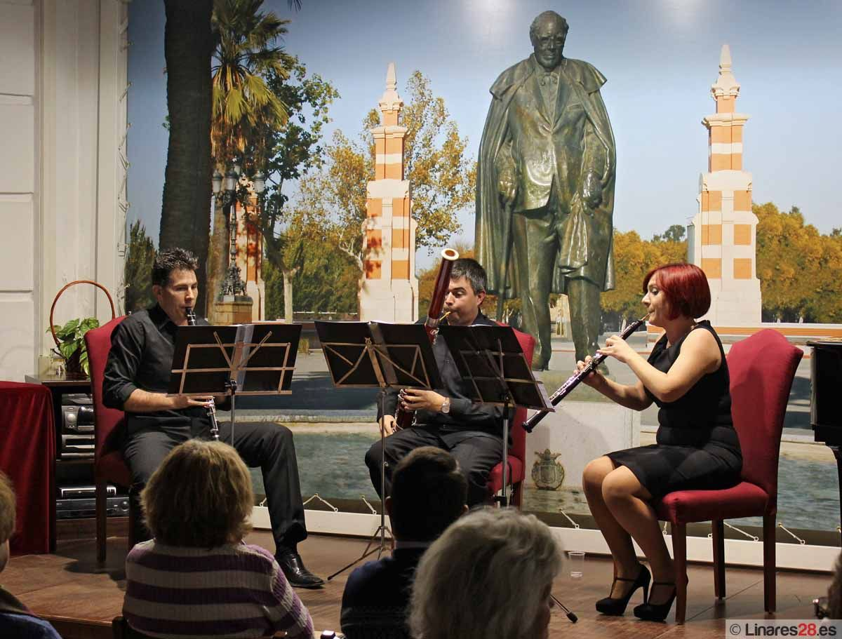 El Trío Diospyros actuó en la Fundación Andrés Segovia