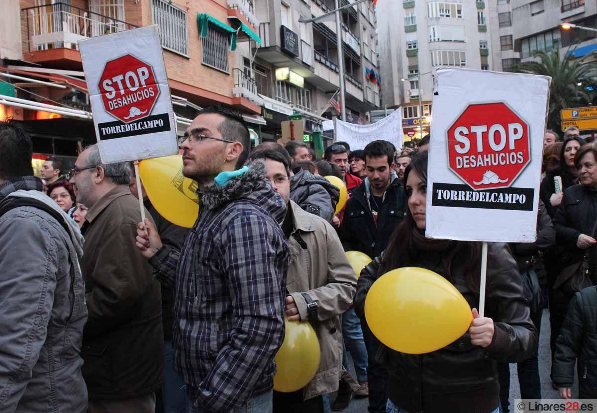 Críticas de IU al PSOE ante el problema de la vivienda